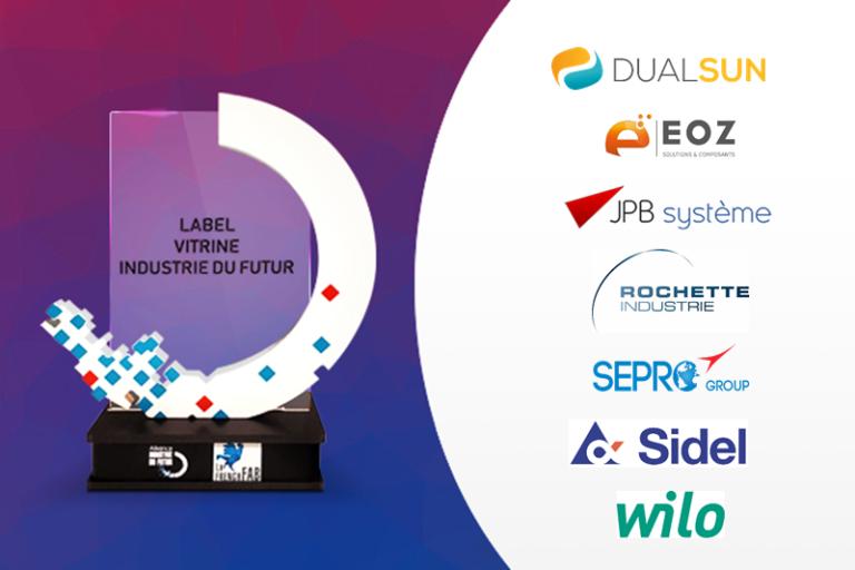 L'AIF labellise 7 nouvelles entreprises «Vitrines Industrie du Futur»