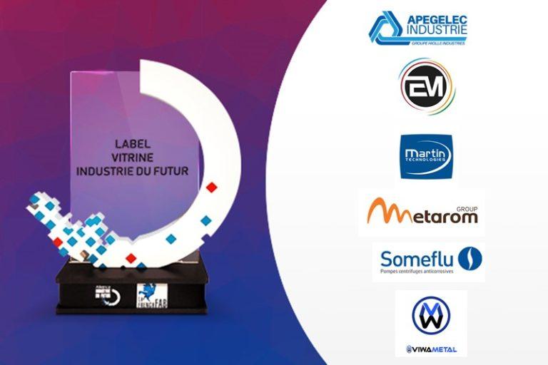 L'AIF labellise 6 nouvelles Vitrines Industrie du Futur