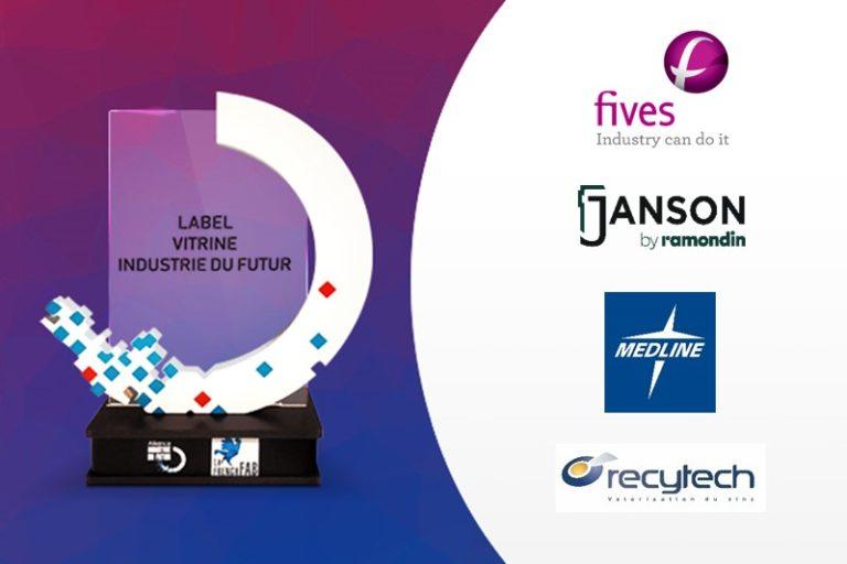 Labellisation de 4 nouvelles Vitrines Industrie du Futur !
